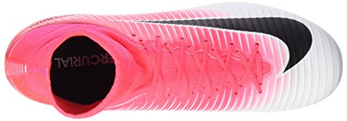 Nike Herren Veloce Mercuriale Iii Df Fg Fußballschuhe, Grau Rosa (racer Colore Rosa / Bianco-nero-bianco)
