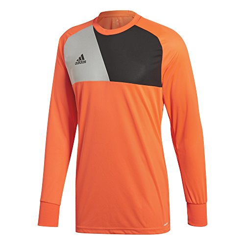 2d7938b00f2 adidas Men's Assita 17 Goalkeeper Jersey, Solar Red/Stone/Black, ...