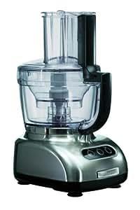 KitchenAid 5KFPM776NK, Níquel, 9100 g, 211 mm, 267 mm, 409 mm, 50/60 Hz - Robot de cocina