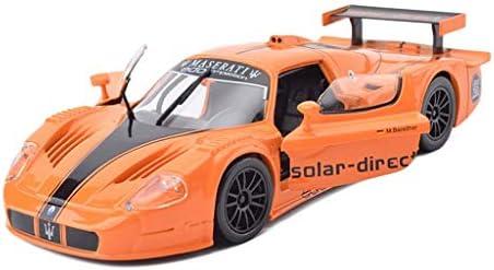 YN モデルカー オレンジモデルカーマセラティMC12スポーツカーモデル1:24合金カーモデルおもちゃコレクションデコレーション趣味 ミニカー