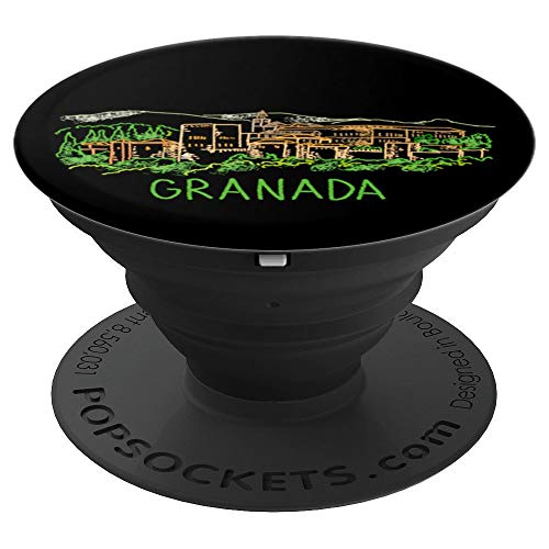 Granada city - PopSockets Grip and Stand for Phones and Tablets ()