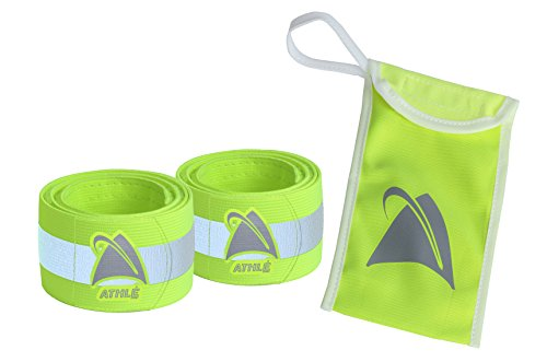 3 IN 1 Safety Reflective Bands Fits Arm, Ankle and Wrist for walking, jogging, hiking, cycling or walking your dog and the perfect item for runners.