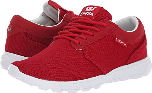 Supra 98128 Women's Hammer Run Sneaker, Cherry-White - 6.5 B(M) ()