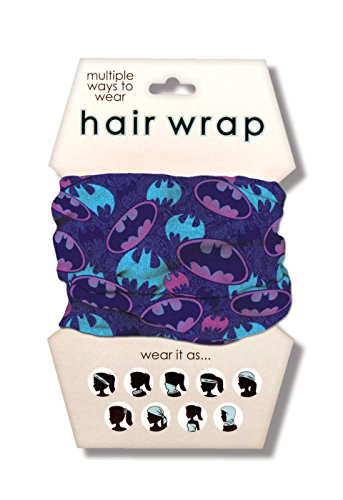 Spoontiques Batman Hair Wrap, Purple (Batman Bandana)