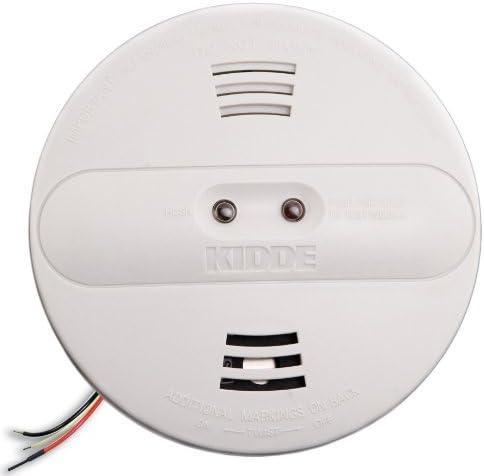 Kidde PI2010 Hardwired Dual Photoelectric and Ionization Sensor Smoke Alarm with Battery Backup
