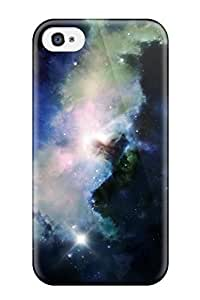 Iphone 4/4s Cover Case - Eco-friendly Packaging(blue Nebula )