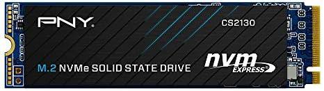 PNY CS2130 2TB M.2 PCIe NVMe Gen3 x4 Internal Solid State Drive (SSD), Read as much as 3,500 - M280CS2130-2TB-RB