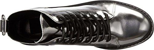 Fashion Gunmetal Boot Lynx Leather Vita Dolce Women's wZxqPtB