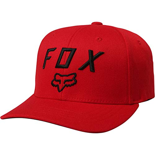 Cap Hat Racing Baseball (Fox Racing Legacy Moth 110 Snapback Hat-Dark Red)
