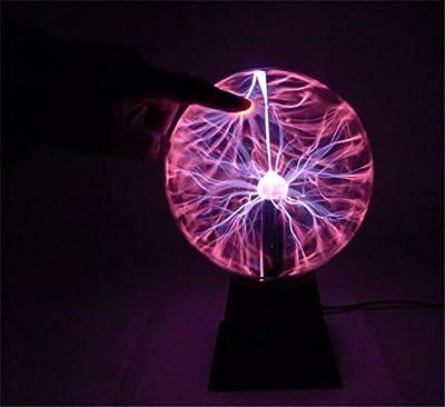 DMMSS Plasma Electrostatic Ball Glow Light Ball Magic Light Magic Novelty Magic Lighting