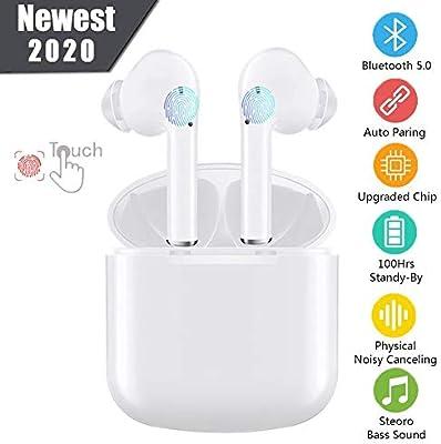 Auriculares Bluetooth, Auriculares Inalámbricos Bluetooth 5.0 TWS ...
