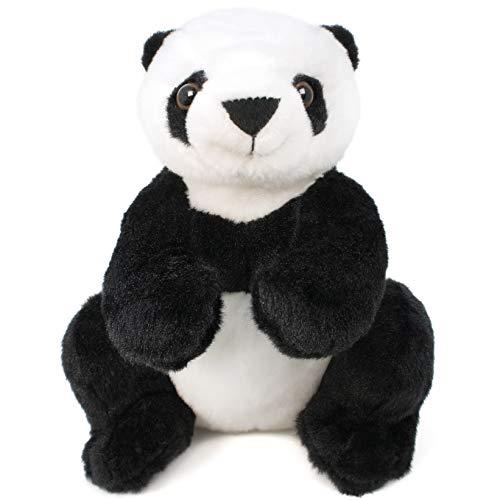 VIAHART Xiaoxiong The Panda   13 Inch Panda Bear Stuffed Animal   by Tiger Tale Toys