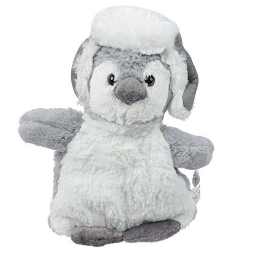 Peluche bouillotte peluche coussin noyau de cerise Pingouin