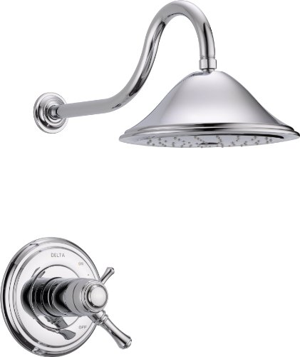 Delta Faucet T17T297 Cassidy MultiChoice 17T Series Shower Trim, Chrome by DELTA FAUCET