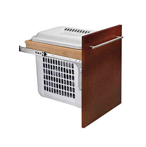 - Wood Hamper Pull-Outs Top Mount with Standard Close