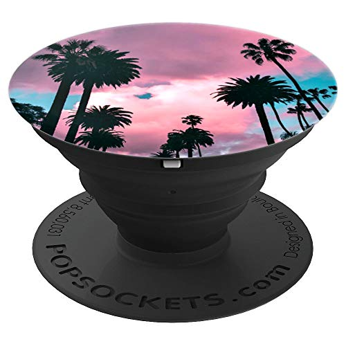 Palm Trees - PopSockets Grip and Stand for Phones and Tablets