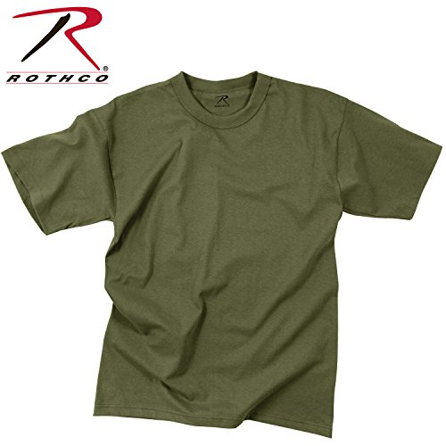 Rothco Kids T-Shirt - Olive Drab, Medium