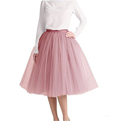 Nature Waist Tulle Skirt For Mother and Daughter Dresses For Semi-Formal Events (Cameo (Mother Nature Adult Costumes)