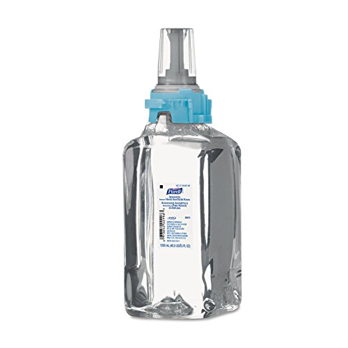 PURELL 880503 Advanced Instant Hand Sanitizer Foam, ADX-12 1200mL Refill, Clear (Case of - Hand Foam Sanitizing Instant