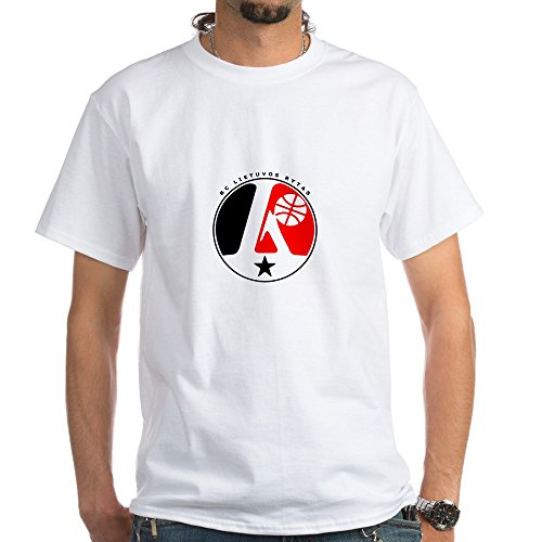 fan products of CafePress BC Lietuvos rytas White T-Shirt - 100% Cotton T-Shirt, White