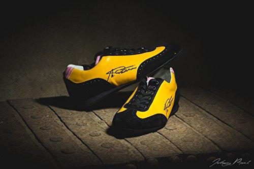 """Chaussures après course artisanales Pella véritable modèle """"Marco Pantani fabriqué en italie"""