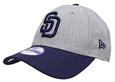 """San Diego Padres New Era 9Forty MLB Youth """"League Heather"""" Adjustable Hat"""