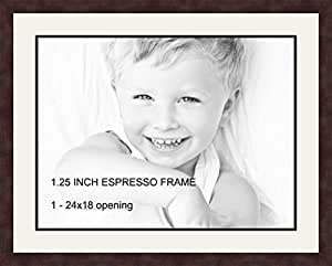 ArtToFrames CDM-735-61/89-FRBW26061 Picture Frame, 22 by 28-Inch