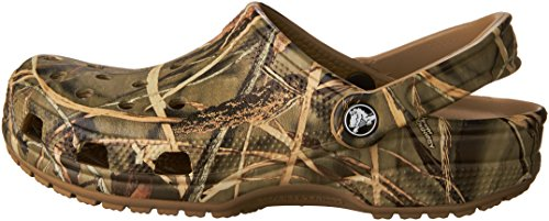 Pictures of Crocs Men's and Women's Classic Realtree Clog  | Comfort Slip On Camo Casual Shoe | Lightweight 5
