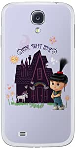 Zing Revolution MS-DMT370456 Despicable Me 2 - Home Sweet Home Cell Phone Cover Skin for Samsung Galaxy S4 - Retail Packaging - Multicolored