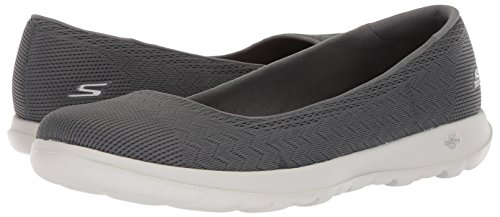 Lite Go Walk SKECHERS Dreamer Charcoal Slipper 15400 qgUU1