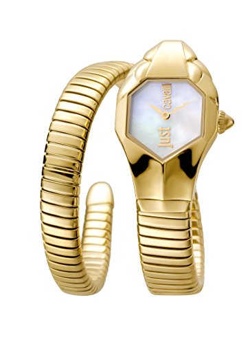 Just Cavalli Glam Chic Women's JC1L001M0025 Quartz Gold Bracelet Watch