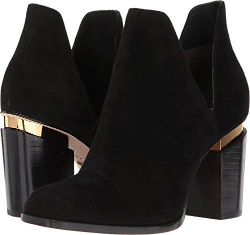 Donna Karan Women's Astor Ankle Boot Black Goat Suede 8.5 M US