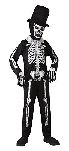 Day Of The Dead Girl Costume Ideas (Small Boy's Skeleton Zombie Costume)