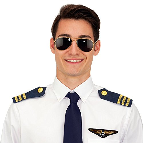 Pilot Costume Accessory Set (Pilot Costume Men)