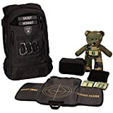 Tactical Baby Gear Daypack 3.0 Full Load Out Tactical Diaper Bag Backpack Set (Black)