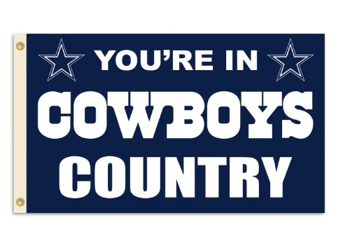 NFL Dallas Cowboys 3-by-5 Foot