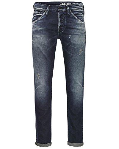 JACK & JONES Herren Slim Jogg Jeans Hose GLENN FOX Blue BL624 Primetta