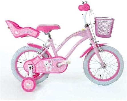 Hello Kitty Bicicleta Infantil niños (Ruedas Aprendizaje, 35,56cm ...
