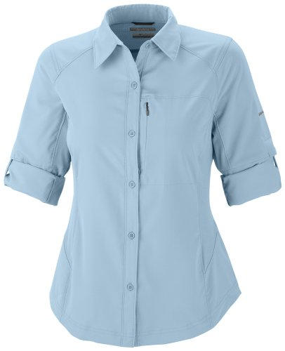 Columbia Silver Ridge Long Sleeve Shirt - Blusa para mujer azul (blau)