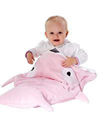 "Scheppend Shark Bites Baby Sleeping Bag Newborn Sleep Sacks Swaddling Blanket,38.6"" x 28.7"" (Pink)"