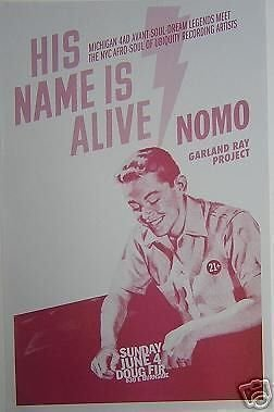 His Name Is Alive Christian Rock Concert Poster