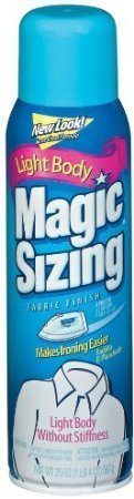 - Magic Sizing Fabric Finish Fresh Scent Two 20 Ounce Containers Included by Faultless