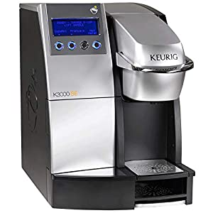 Keurig K 3000 SE Coffee Commercial Single Cup Office Brewing System – Warranty is only good with a specific filter on the