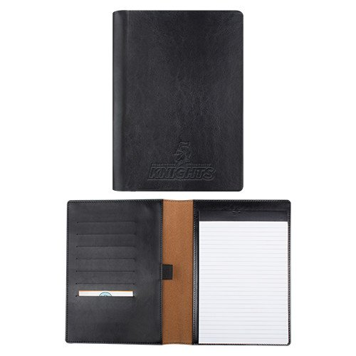 Bellarmine Fabrizio Junior Black Padfolio 'Official Logo Engraved' by CollegeFanGear