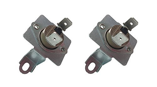2 x SAMSUNG DC96-00887A Replacement Dryer Thermostat W/ Bracket 2074129 - Thermostat Bracket