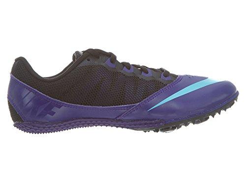 Zoom Rival S Estilo Mujeres: 615 540 Deporte Entrenador Zapatos Electro Purple / Gamma Blue-Blk