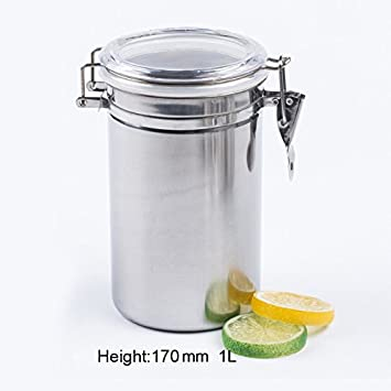 Amazoncom xlpace Airtight Sealed Canister Coffee Flour Sugar Tea