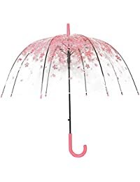 Transparent Clear Bubble Dome Umbrella for Wind and Heavy Rain 33'' in Diameter