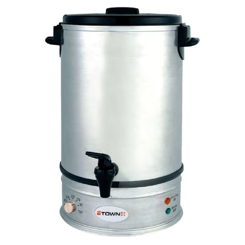 Town Food Service 39110 10 L Water Boiler, Stainless, Each