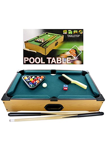 Tabletop Pool Table, Case of 12 by bulk buys